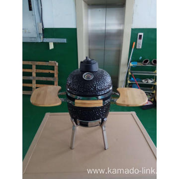 13inch egg kamado bbq grill with side table